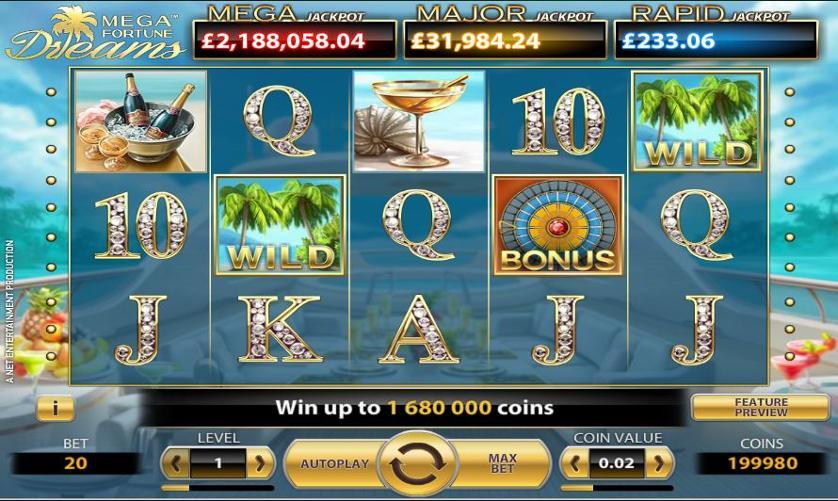 Mega fortune dreams tips 60980