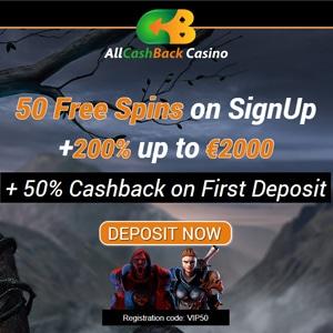 Cashback helg 51918