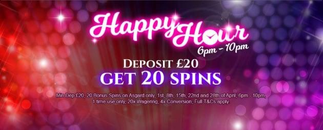 Happy Hour bonus 37794