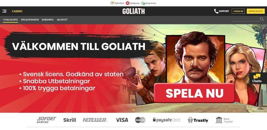 Ett bra nätcasino Goliath 38506