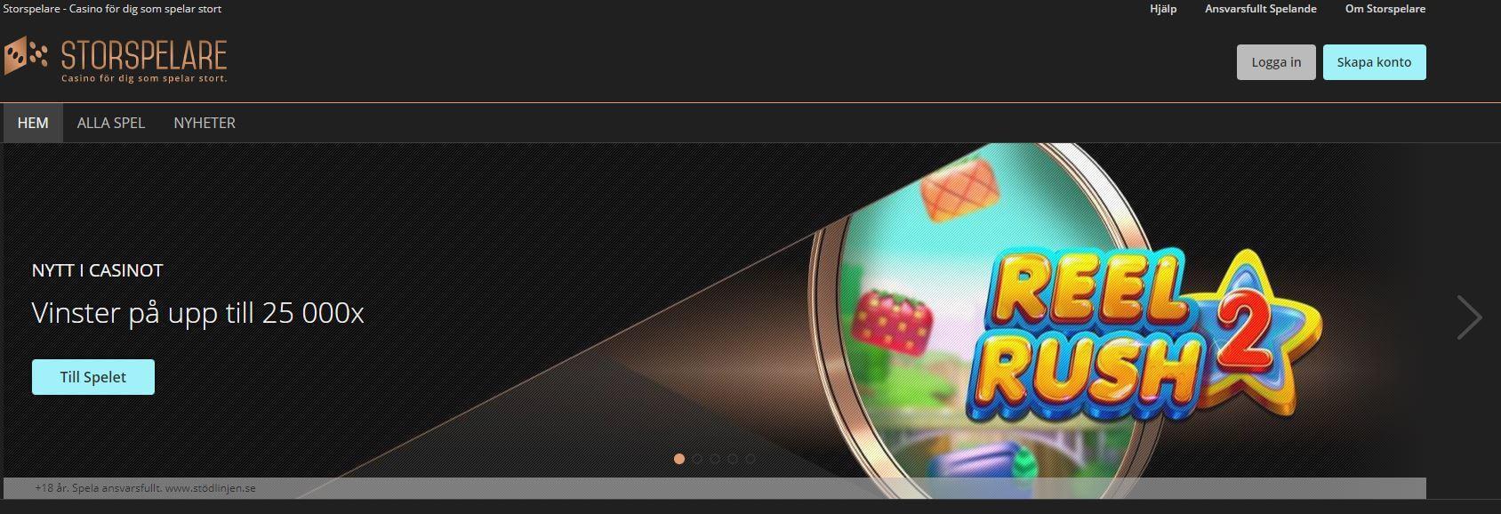 Storspelare com casinospel svenskt 40884
