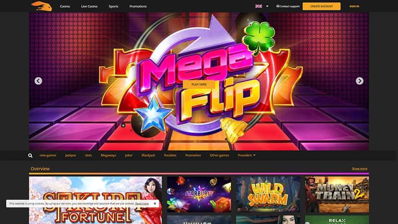 Snabbis odds casino 57742