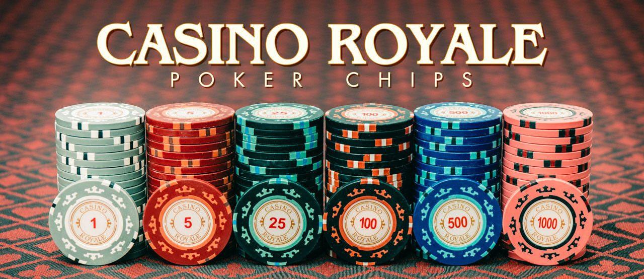 Poker chips landbaserat casino 28714