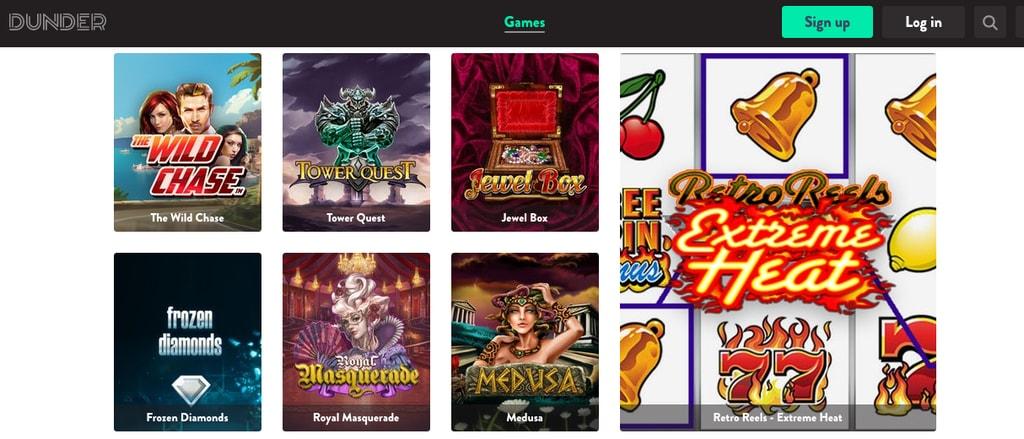 Dunder casino quiz 65945