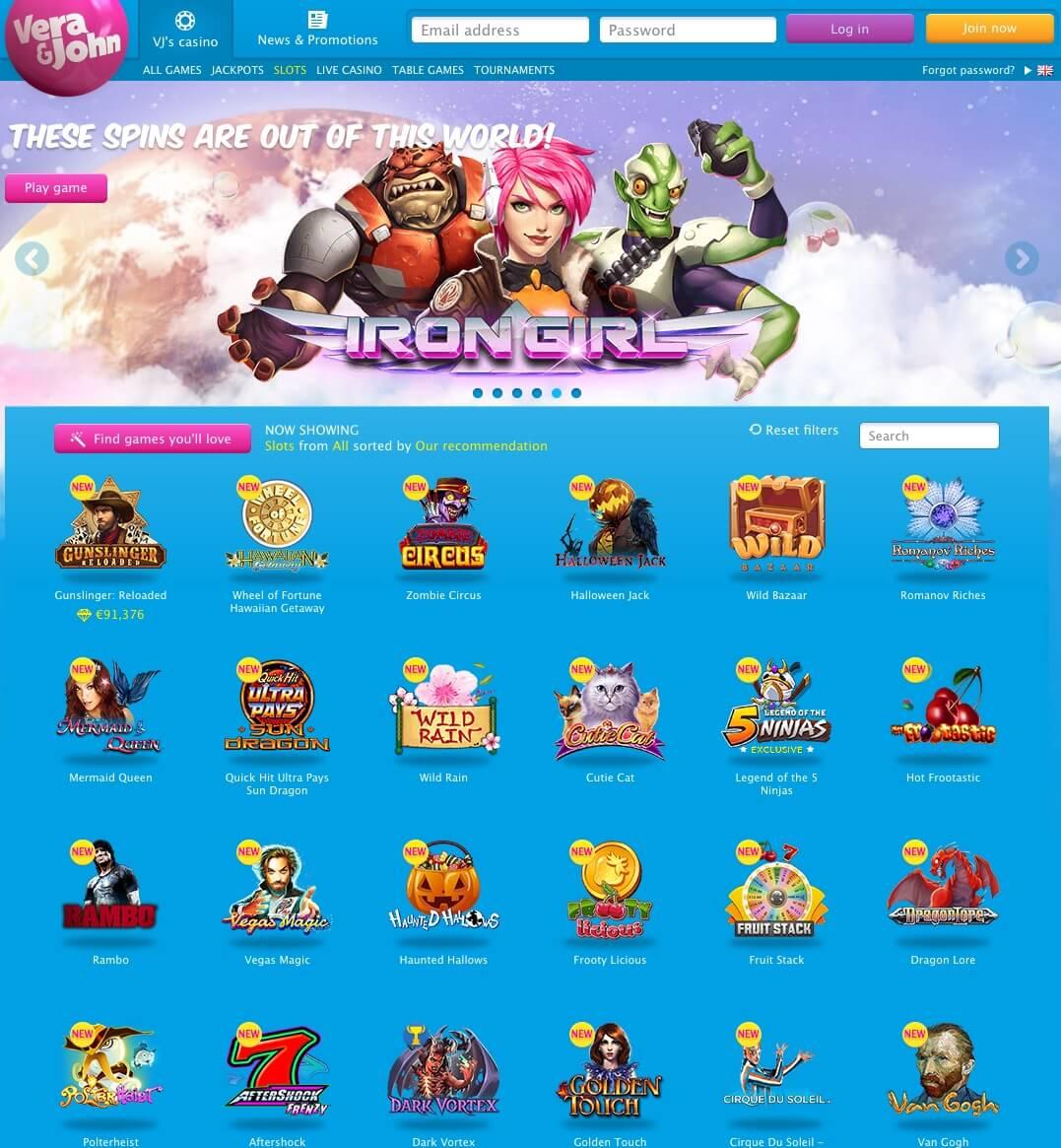 Verajohn mobile casino 42215