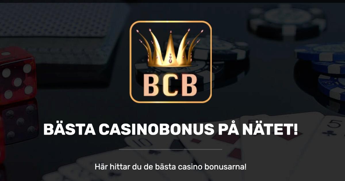 Bästa casino bonus 21633