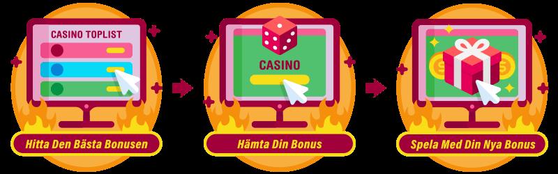 Casinon byter välkomstbonus 44323
