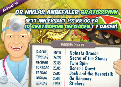 Free spins 20535
