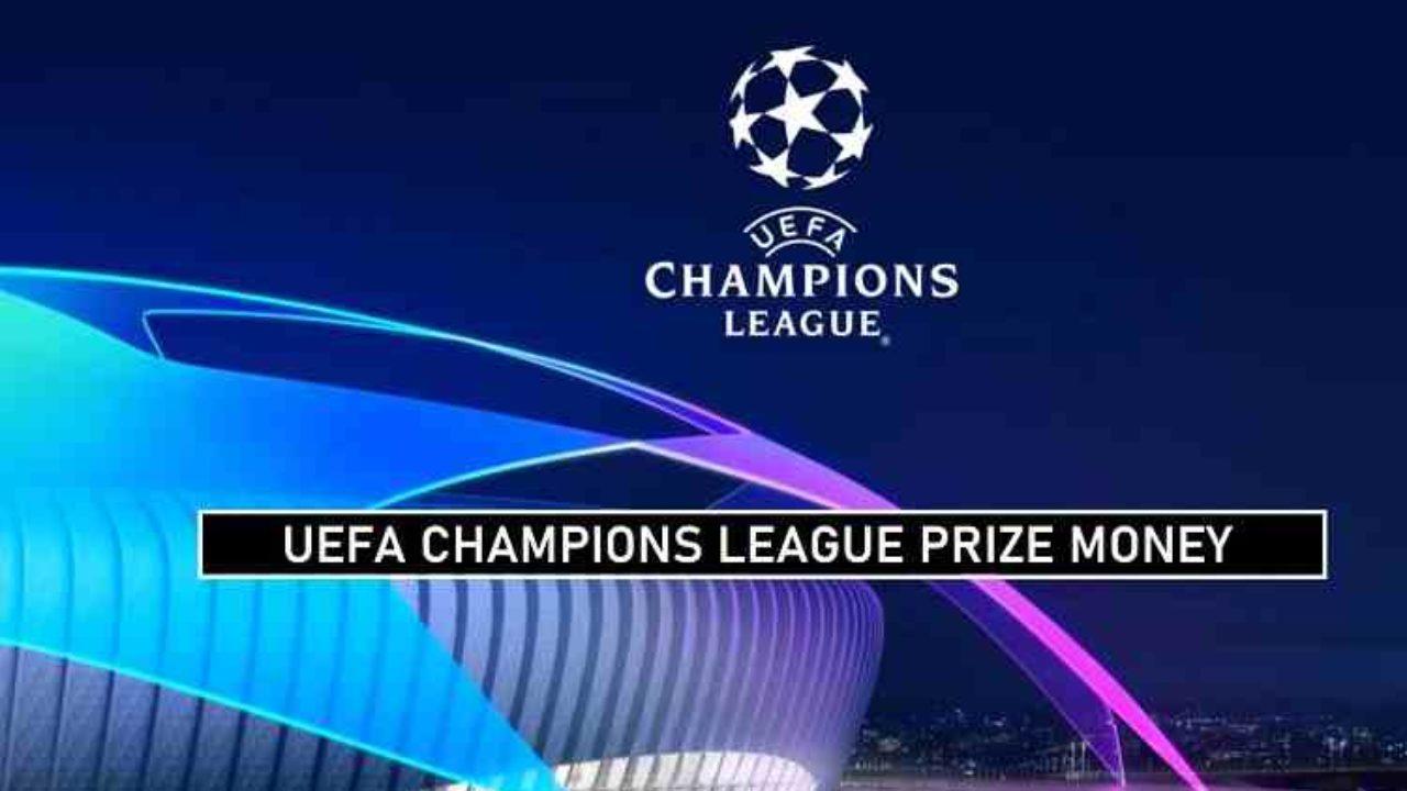 Prize money champions league 20365
