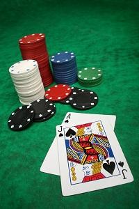 Poker chips 54936