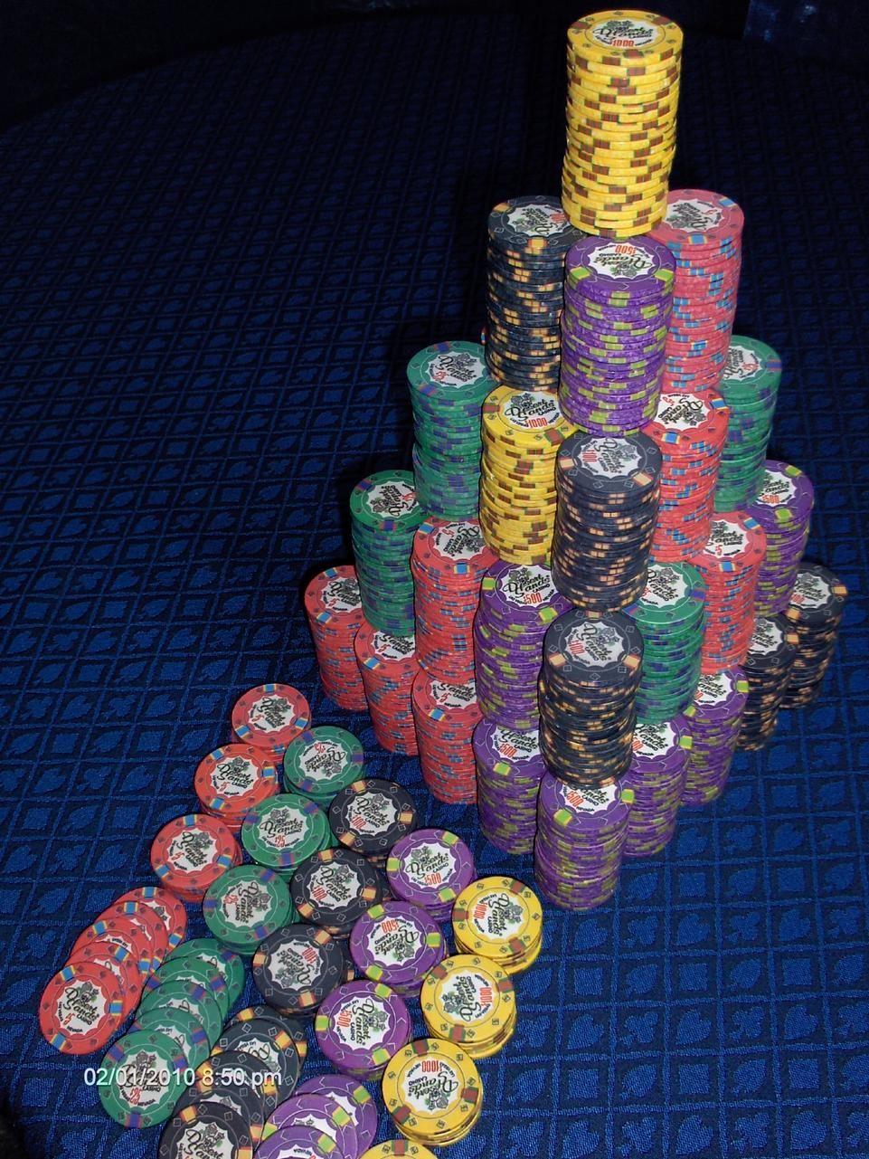 Poker chips eu 64060