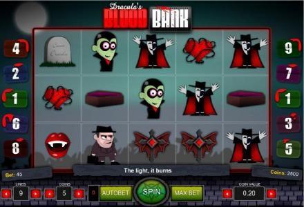 Red gaming Dracula Blood 64216