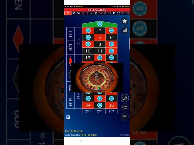 Roulette vinn biljetter 55965