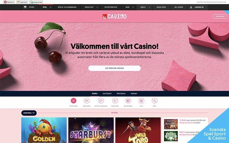 Svenska spel insättningsgräns 13527
